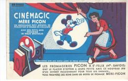 Fromage  Mére PICON  à St Félix  ( 74 )  -   Mickey       -    Ft  =  20 Cm  X  13 Cm - Dairy