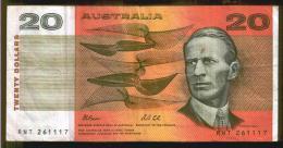BANCONOTA AUSTRALIANA DA 20 DOLLARI - Dezimale Regierungsausgaben 1966-...