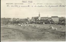 SAINT-QUAY - LA PLAGE,  L'EGLISE ET LA COMMUNAUTÉ - Saint-Quay-Portrieux