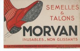 Semelles Et Talons    MORVAN        Ft  =  21 Cm X 13.5 Cm - Chaussures