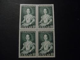 Saar 1954 Michel  355  Blok A 4 - BRD