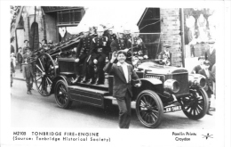Tonbridge Fire Engine   -  1921  -  Pamlin Real Photo Postcard - Autres