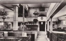 WHITBY - ST MARYS CHURCH INTERIOR - Whitby