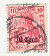 France German Occupation N 18  (o) - Occupation 1914-18