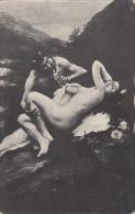 """ Nymphe Et Satyre  "" De  J. Scalbert - Tableaux"