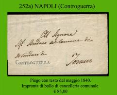 Controguerra 00252a (Piego Con Testo) - Italia