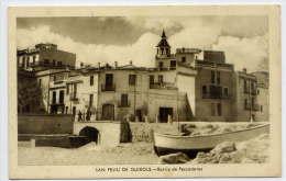 Espagne--SAN FELIU DE GUIXOLS--Barrio De Pescadores (petite Animation) éd Carabela--carte Publicitaire Boutiques Modes - Gerona