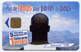 Télécarte 120 Unités N° F1148 France 07/01 - Plus De Temps Pour Parler Du Pays, OB2, DN - France