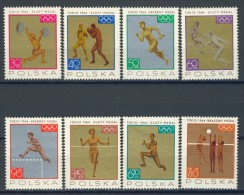 BL1-35 POLAND 1965 YV 1472-1479 SPORT, OLYMPICS TOKYO 1964, POLISH MEDAILLE WINNERS. - Zomer 1964: Tokyo