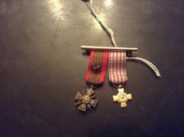 Médaille Ou Décoration Mini - Militaria
