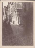 FOTO Einer Dorfstraße, In Der Umgebung Der Burg Eltz (?), Um 1900 - Orte