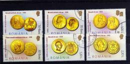RUMANIA / ROMANIA / ROUMANIE Año 2006  Yvert Nr. 5064/69  Usada Monedas Coins - 1948-.... Repúblicas