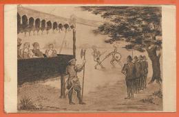 X111, Combat, Spectacle, Escrime, épée, Bouclier, Le Coup De Jarnac, Circulée 1939 - Escrime