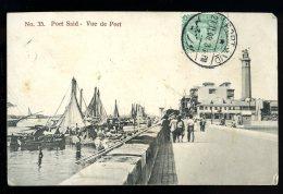 Cpa Egypte  Port Said Vue De Port    APJ12 - Port Said