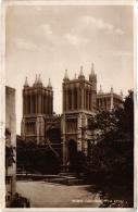 RPPC, Bristol Cathedral, West Front 1944 - Bristol