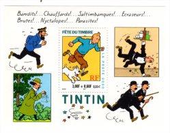 TIMBRE - FRANCE - TINTIN - BLOC FETE DU TIMBRE 2000 - NEUF NON OBLITERE - France
