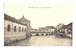 cp, 21, Is-sur-Tille, Le Grand Pont, �crite 1916