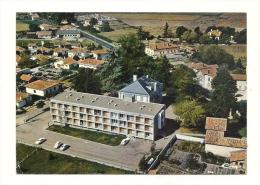 """Cp, 40, Pontonx-sur-l'Adour, Vue Générale Aérienne, Au 1er Plan, Maison De Retraite """"La Résdence"""" - Sonstige Gemeinden"""