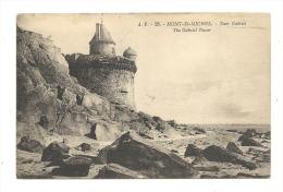 Cp, 50, Le Mont Saint-Michel, Tour Gabriel - Le Mont Saint Michel