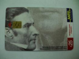 Phonecard/Telecarte Homenagem A José Artigas Antel Uruguay Tirage 200000 - Uruguay