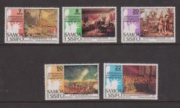 Samoa 1976 US Independence Bicentennial Set 5 MNH - Samoa