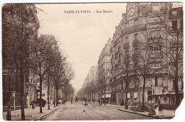 Paris Auteuil - Rue Mozart ( Voie Ferrée économique , Calèche ) - District 16