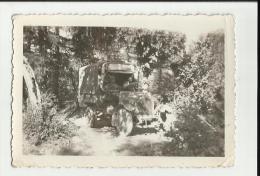 FOTO ORIGINALE CM 9,5 X 6,5  CIRCA   CAMION FORTE DI BRAMAFAM SOLDATI ESERCITO MILITARI - Guerra, Militari
