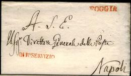 Foggia-00293b - Piego Con Due Bolli A Stasmpatello Diritto Di Origine Napoleonica - - 1. ...-1850 Prefilatelia