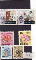 Rhodesia 1974, Oblitérés - Zimbabwe (1980-...)