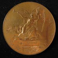 M00741 Expo Universelle De 1889 Par Bottée Allégorie Et Tour Eiffel, Victoire à Paul Robert Au Revers. 132 G - France