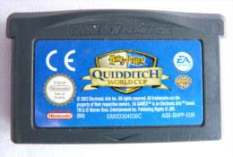 JEU NINTENDO GAME BOY  ADVANCE -  HARRY POTTER Quiddtich World Cup - Nintendo Game Boy
