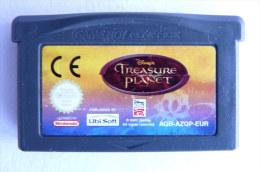 JEU NINTENDO GAME BOY  ADVANCE -  DISNEY TREASURE PLANET - Nintendo Game Boy
