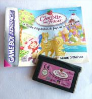 JEU NINTENDO GAME BOY  ADVANCE - CHARLOTTE AUX FRAISES AVEC LIVRET - Nintendo Game Boy