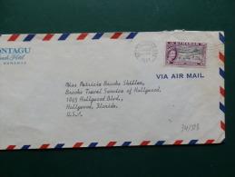 34/523   LETTRE BAHAMAS - 1859-1963 Colonie Britannique