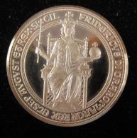 AG00756 Frederic Empereur Et Roi De Sicile, Le Roi En Majesté Et Un écu Au Revers, 1977, Argent 1000. 24 G - Duitsland