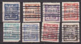 G1503 - HONDURAS Yv N°76/83 ( N°78 ET 80 DEFECTEUSES) - Honduras