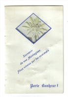 Véritable Eidelweiss Souvenirs De Montagnes - Maps