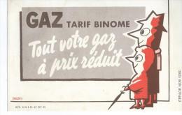 GAZ   Tarif  Binome                   -   Ft  =  21 Cm X 13.5 Cm - Electricité & Gaz