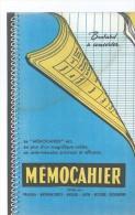 MEMOCAHIER               -   Ft  =  21 Cm X 13.5 Cm - Stationeries (flat Articles)