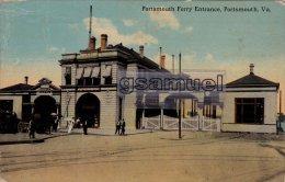 Royaume-Uni Angleterre  Hampshire Portsmousth Ferry Entrance, Portsmouth, Va. - (voir Scan). - Portsmouth