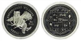 "AG00007 Bhutan 1992, 300 Ngultrum, 1 Animal ""endangered Wildlife"", Silver 9250. Ag 31 G - Bhoutan"