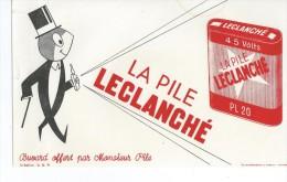 La  Pile   LECLANCHE     -   Ft  =  21 Cm X 13.5 Cm - Electricité & Gaz