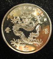 M00774 Republic Of Liberia 1997, 1 Dollar, Dragon De CHINE - Liberia