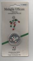 Mon017 Medaglia Ufficiale Mascotte Ciao, Campionati Mondo Calcio ITALIA ´90, Coniazione PROOF, World Football Medal - Altri