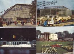 Wereldtentoonstelling Brussel1958 - 13 Kaarten - Expositions Universelles