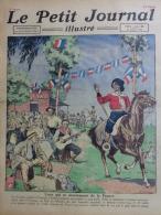 LE PETIT JOURNAL ILLUSTRE - 16 JUILLET 1922- FETE 14 JUILLET FRANCE EN ARGENTINE-ACCIDENT CHEMIN DE FER BERLIN ALLEMAGNE - Documentos Históricos