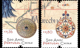 Portugal - 2013 - 500 Ans Rélations Diplomatiques Portugal Et China - 2 Val Neufs // Mnh - 1910-... Republic