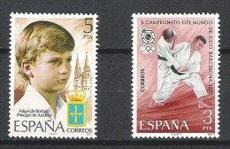 Espagne - 1977 - Y&T 2094/5 - Neuf ** - 1931-Today: 2nd Rep - ... Juan Carlos I