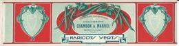 Etiquette De Conserve/Chambon & Marrel/Haricots Verts /Souillac/Lot/ Ronteix/Périgueux/ Vers 1920    ETIQ10 - Alimentaire