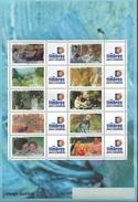 France Personnalisé N° 3866 A F ** Les Impréssionnistes - Logo Cérès Personnalisé - Emis En 2006 - Feuilles Complètes